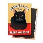 MF-107  Magnet 4-pack - Whatever Kitty