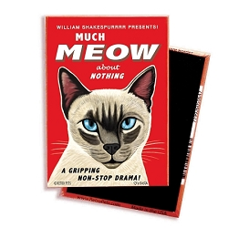 MF-109  Magnet 4-pack - Siamese Cat