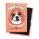 MHP-114  Magnet 4-pack - Pretty Pit Candy