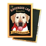 MHP-124  Magnet 4-pack - Ravenous Lab Yellow