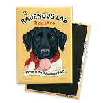MHP-125  Magnet 4-pack - Ravenous Lab Black