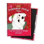 MHP-127  Magnet 4-pack - Pampered Pooch