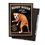 MHP-128  Magnet 4-pack - Bendy Boxer