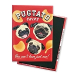 MHP-130  Magnet 4-pack - Pugtato Chips