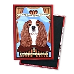 MP-201  Magnet 4-pack - Patron Saint - Cavalier, Royalty