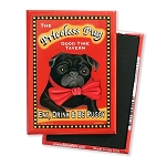 MPB-102  Magnet 4-pack - Priceless Pug