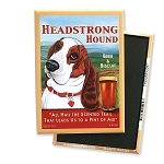 MPB-112  Magnet 4-pack - Headstrong Basset