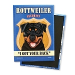 MSE-103  Magnet 4-pack - Rottweiler Security
