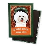 MT-101  Magnet 4-pack - Bichon Biscuits