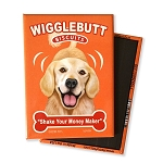 MT-115  Magnet 4-pack - Wigglebutt Golden