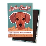MT-117  Magnet 4-pack - Little Stinker Doxie