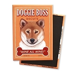 MT-119  Magnet 4-pack - Doggie Boss