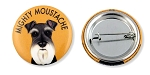 OC-107 - Buttons - Mighty Moustache 10-pack