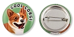 OC-113 - Buttons - Cool Corgi 10-pack