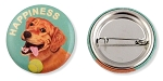 OHP-119 - Buttons - Happiness Golden 10-pack