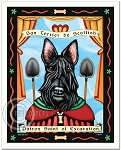 P-132 - 8x10 Art Print - Saint Scottie - Excavation