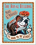 PB-103 - 8x10 Art Print - Royal Bulldog