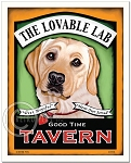 PB-104 - 8x10 Art Print - Lovable Lab
