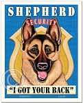 SE-101 - 8x10 Art Print - Shepherd Security