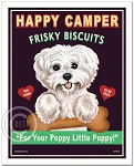 T-108 - 8x10 Art Print - Happy Camper