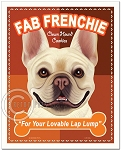 T-110 - 8x10 Art Print - Fab Frenchie