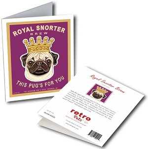 GCB-110  Greeting Card 6-Pack - Royal Snorter