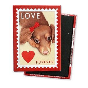 MPO-202  Magnet 4-pack - Doxie LOVE