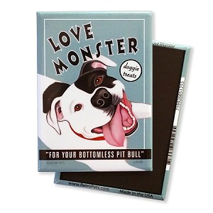 MT-103  Magnet 4-pack - Love Monster